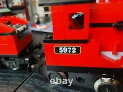 LEGO Harry Potter 10132 Motorized Hogwarts Express Train RARE with BONUS Tracks