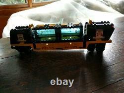 LEGO SYSTEM 9V Train # 4459 Cargo Railway Extra track & Trees