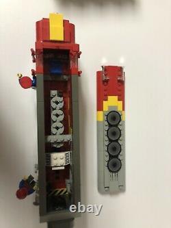 LEGO Santa Fe Super Chief Train, Mail + Observation cars, track, 9V motor 10020