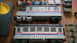 LEGO System 4558 Metroliner 9V Train + Extra Track, No Box Rare