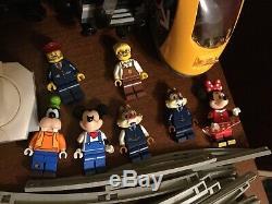 LEGO TRAIN LOT 7745 71044 60238 60197 7499 Disney Passenger WITH TRACK LAYOUT