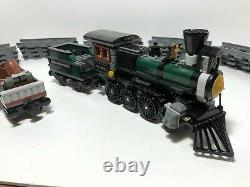 LEGO The Lone Ranger Locomotive, tender and one car, track from 79111