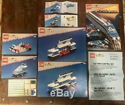 LEGO Train 9V 4561 Railway Express ALL Pieces In Box Working Track Motor