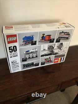 LEGO Trains 4002016. 50 Years On Track Brand New In Sealed Box Special Edition