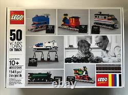 LEGO Trains 4002016 50 Years On Track Brand New Sealed Box Special Edition Staff