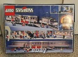 LEGO Trains 9V Metroliner (4558) 100% COMPLETE WithBOX, MANUAL AND TRACK