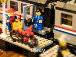 LEGO Trains 9V Metroliner (4558) WITH EXTRA TRACK