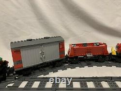 LEGO Trains Cargo Train Deluxe (7898) No Box Complete Set Extra Track