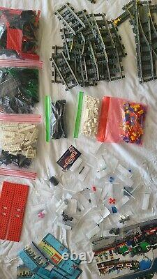 LEGO Trains Holiday Train (10173) INCLUDES REPLACED 9V TRAIN KIT AND TRACKS