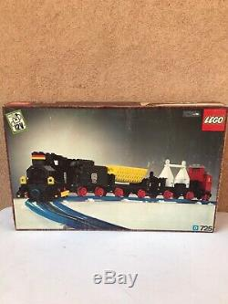 LEGO Vintage Train 725 12v freight train and track New 1974