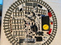 LEGO World City Cargo Train #4512 (2003) Incomplete Used Tracks Electric Parts