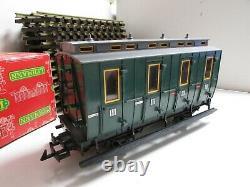 LGB 2010D 0-4-0 Locomotive Train Set With 18 Tracks & Transformer Tested