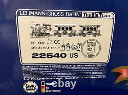 LGB 22540 Christmas Train Starter Set Box Lehmann 1992 G Scale xtra track As Is