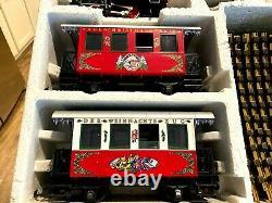 LGB 22540 Christmas Train Starter Set Lehmann 1992 G Scale Extra Track As Is