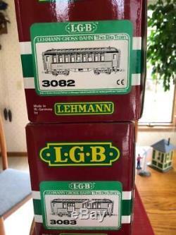LGB LEHMANN-GROSS-BAHN ELECTRONIC TRAIN ENGINE CARS TRACK CONTROLLER indoor/out