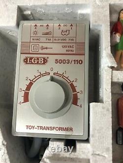 LGB Marshall Fields Train Set New 20534 MF 1986 Vtg Track Transformer Wire RARE