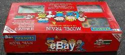 LGB Toy Train 92786 PEANUTS Starter Set 0-4-0 Loco, Gondola, Caboose NEW IN BOX