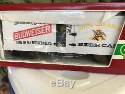 LGB Train Set Budweiser King of All Bottled Beers Train Cart 4070