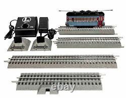 LIONEL Polar Express Trolley SET w Announcment Track o gauge train 1923130 NIB