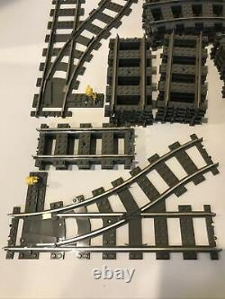 LOT OF 75 Lego 9v 2865 2867 2861 Train tracks in great condition Tested