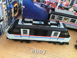 Lego 4558 Metroliner 9v Train Set With Extra Train And Coaches + Controller