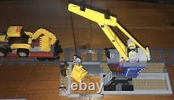 Lego 60098 City Heavy-Haul Train Set Manuals Minifigures 9v Train Track Works