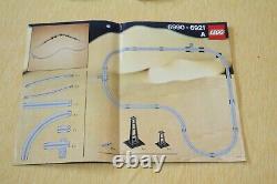 Lego 6399 Airport Shuttle Monorail Train PLUS LEGO ACCESSORY TRACK 6921