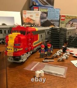 Lego 9v Santa Fe Super Chief 10020, 10022, 10025, Track & More! Wow