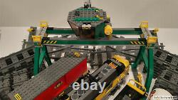 Lego City 7939 Cargo Train 9V Power Functions withTracks All Pieces Most Stickers