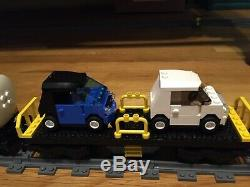 Lego City Cargo Train 7939 With Power Functions + Extra Track