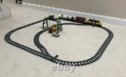 Lego City Cargo Train Set # 7939 Confirmed Complete with extra track Set #7499