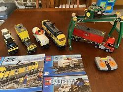 Lego City Cargo Train With Track 7939