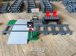 Lego City High Speed Passenger Train with extra tracks, working condition