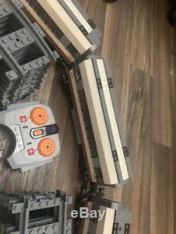 Lego City High-Speed Passenger train set 60051 track and cars
