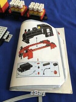 Lego Classic Steam Cargo Train 7722 Track Battery Operated Read Description