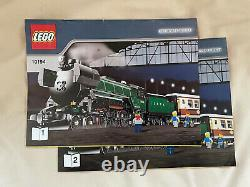 Lego Emerald Night Train 10194 with Power Functions and Tracks