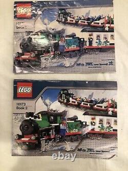 Lego Holiday Train & Tracks w Motorized unit 10173 w inst, 7895, 7896 etc no box