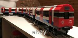 Lego London Underground Tube Train 4 Carriages Compatible With 12v & 9v Track