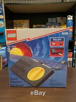 Lego Metroliner And Clubcar Vintage Rare Set With Speed Regulator And Track