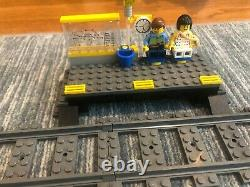 Lego Motorized Passenger Train + Extra track (Lego set #7938 + #7895)