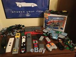 Lego Train Lot 7898 10219 10173 10194 60020 7988 Used Nib With Track Layout