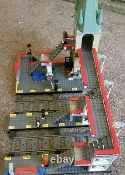 Lego Train Station 7937 7938 60050 70197 custom double track, triple platform