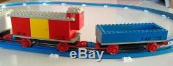 Lego Vintage Train 720 with 12V Electric Motor with all tracks, RARE