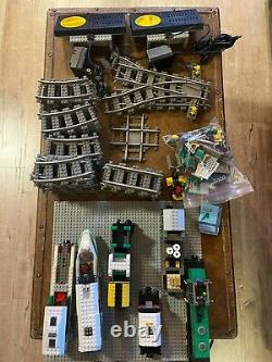 Lego World City 4511 & 4512 withtracks, power, trains, instructions, all access