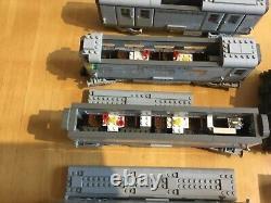 Lego train set 10020 10022 10025 track power supply and 9v motor used santa fe