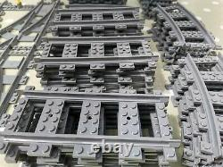 Lego train track with rare 7996 crossover points from 2006