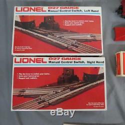 Lionel 027 Gauge Train Set Trainmaster Transformer 70 Track Sections 610 Engine+