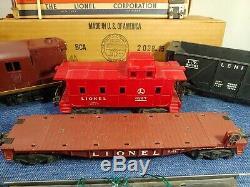 Lionel 1950s Post War Train Set Lot #2028, 6436, 6311, 6257 + tracks & more