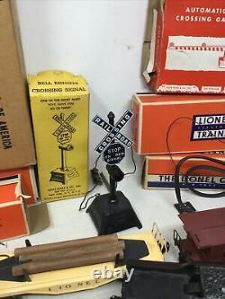 Lionel 249 2-4-2 Steam Set WITH BOX TRACK AND ACCESSORIES Postwar Train Set