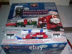 Lionel NPC Santa's Helper Christmas Train Set #82545 with Sounds & RC (No Track)